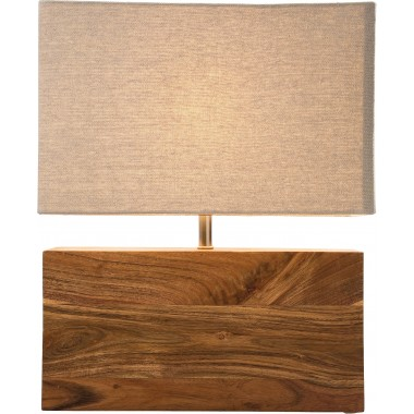 Candeeiro de Mesa Rectangluar Wood Nature-31798 (3)