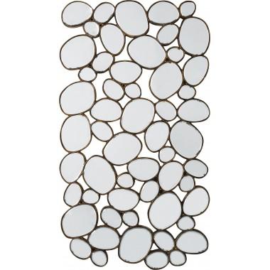 Espelho Water Drops Copper 135x78