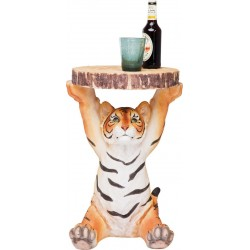 Mesa de Apoio Animal Tiger Ø35cm