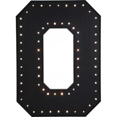 Candeeiro de Parede O Preto LED 169cm