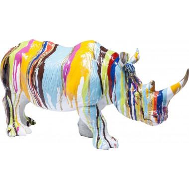 Peça Decorativa Rhino Colore 26cm