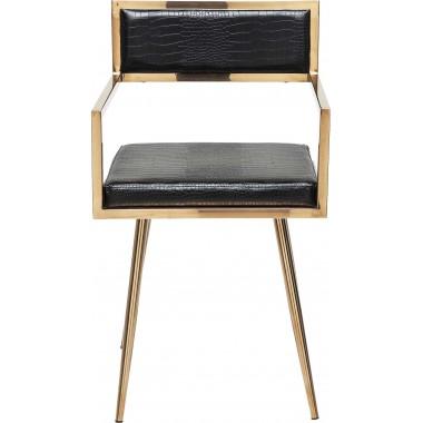 Cadeira de braços Jazz Rosegold