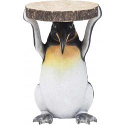Mesa de Apoio Animal Mr. Penguin Ø33cm