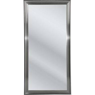 Espelho Frame Prateado 180x90cm