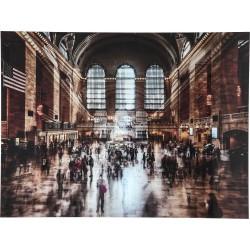 Quadro de Vidro Grand Central Station 120x160cm