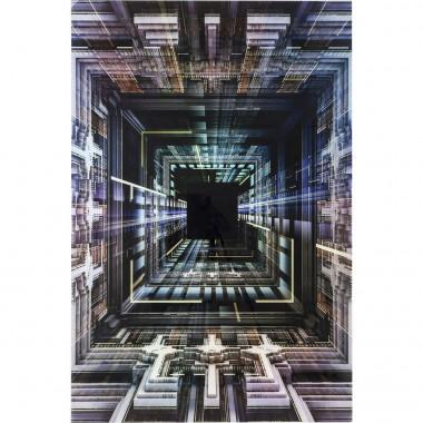Quadro de Vidro Science Fiction 120x180cm