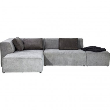 Sofá Infinity Cinzento c/chaise à esq.