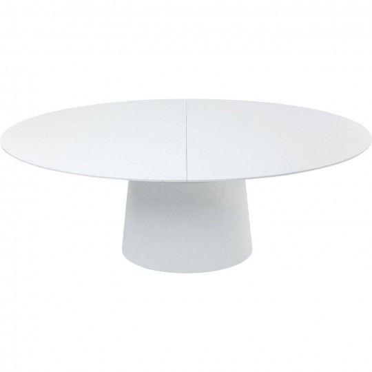 Mesa Extensível Benvenuto Branca 200(50)x110cm