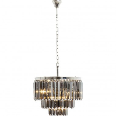 Suspension ronde Smoky Lounge Kare Design
