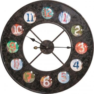 Horloge Vintage Colour 70 Kare Design