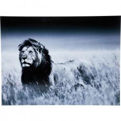 Quadro de Vidro Lion King Standing 120x160cm