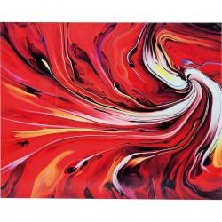 Quadro de Vidro Chaos Fire 150x120cm