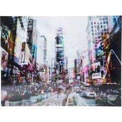 Quadro de Vidro Times Square Move 120x160cm-35857 (3)