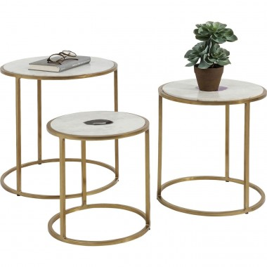 Tables d'appoint Limbo 3/set Kare Design