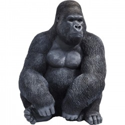 Peça Decorativa Monkey Gorilla Side XL Preta
