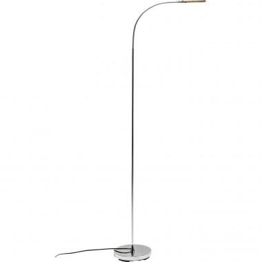 Lampadaire Literature chrome LED Kare Design
