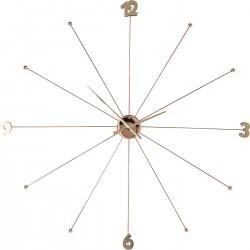 Relógio de Parede Like Umbrella Rose Gold