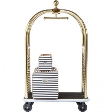 Trolley VIP Baggage Vegas Gold