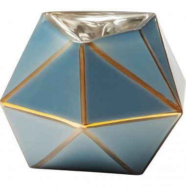 Vaso Art Pastel Azul 14cm