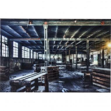 Quadro de Vidro Factory 100x150cm