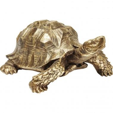 Peça Decorativa Turtle Dourada Big