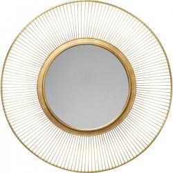 Espelho Sun Storm Gold Ø93cm