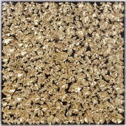 Quadro c/moldura Gold Leaf 120x120cm