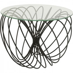 Mesa de Apoio Wire Ball Ø60cm