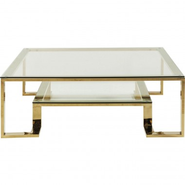 Table basse Gold Rush 120x120cm Kare Design