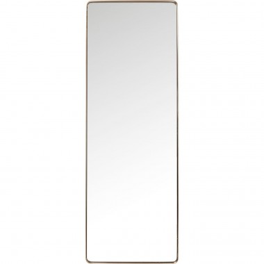 Espelho Curve Rectangular Cobre 200x70cm