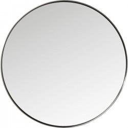 Espelho Curve Round Aço natural Ø100cm