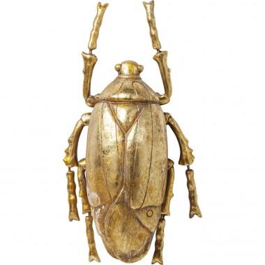 Decoração de Parede Plant Beetle Gold