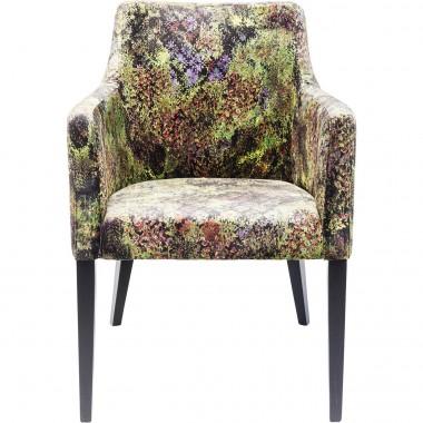 Cadeira de braços Mode Preto/Verde Dschungel