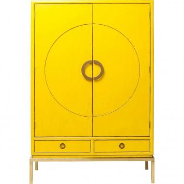 Armário Disk Amarelo