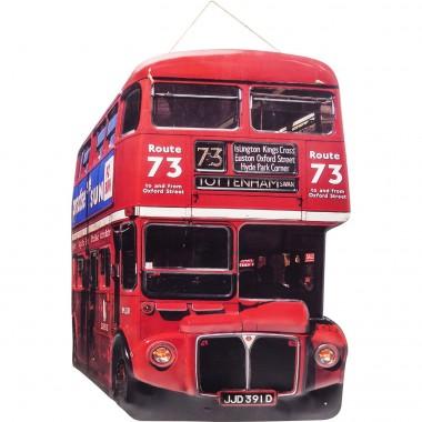 Decoração de Parede Tottenham Bus
