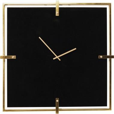Relógio de Parede Preto Mamba