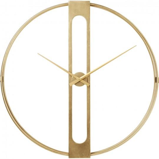 Relógio de Parede Clip Gold Ø107cm