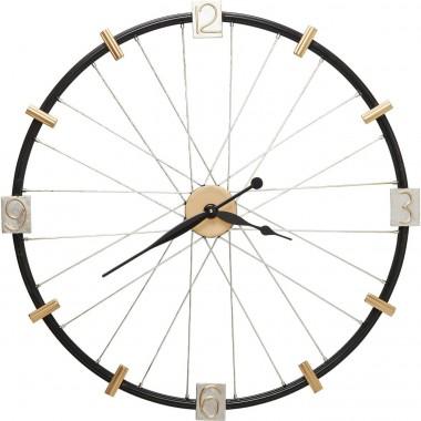 Relógio de Parede Spoke Wheel 80cm