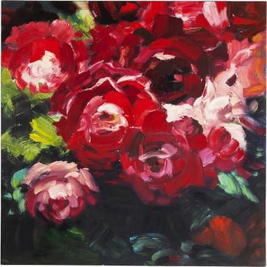 Tela a Óleo Roses 100x100cm