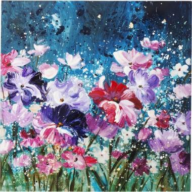 Tela a Óleo Flower Garden 100x100cm-60776 (7)