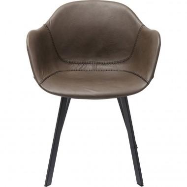 Cadeira de braços Lounge Cinzenta-83232 (9)