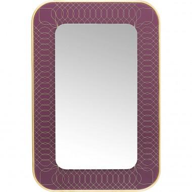 Espelho Revival Berry 90x60cm