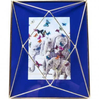 Cadre Art Pastel bleu foncé 10x15cm Kare Design