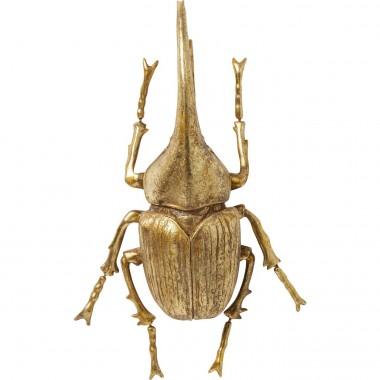 Decoração de Parede Herkules Beetle Gold
