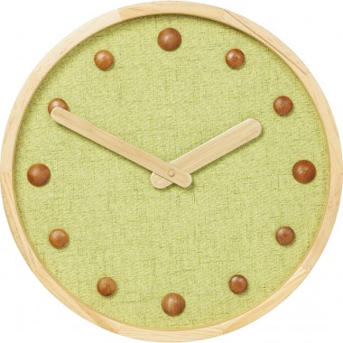 Relógio de Parede Arizona Verde 42cm