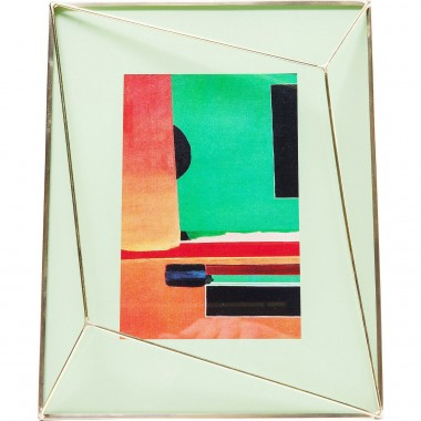 Cadre Art Pastel vert 10x15cm Kare Design