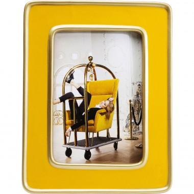 Cadre Zebra jaune Kare Design