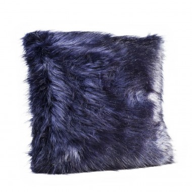 Almofada Ontario Fur Preta 60x60cm