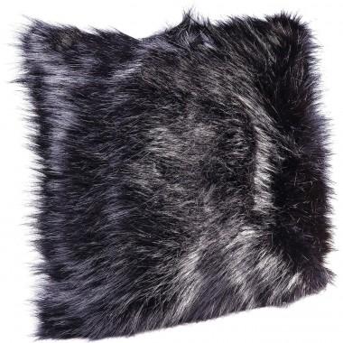 Almofada Ontario Fur Preta 45x45cm