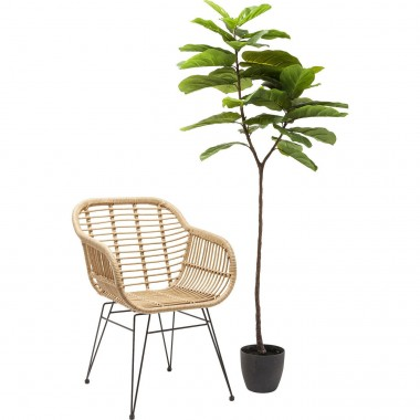 Planta decorativa Leaf Tree 170cm-60717 (6)